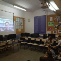 """Videoconferència – Projecte """"El nostre Montserrat"""""""